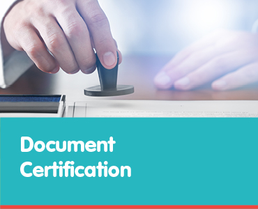 Document Certification